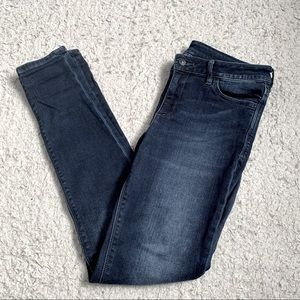 Armani Exchange high rise skinny jeans